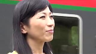 Japanese Mother rides Taboo schlong