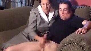 Amazing amateur MILFs, CFNM porn movie