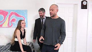 Samantha Hayes Shares a Big Cock With Cuckold Husband