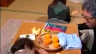 Japanese Teen Fucked Beside Her Sleeping Mother