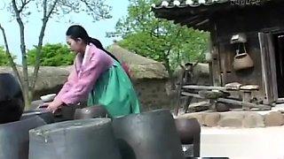 Korean Amateur teen girl shows fellatio skills