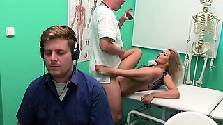 Blondie Cherry Kiss Gets Fucked By Hung Doctor