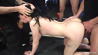 skinny babe charlotte sartre takes on more dicks than she can handle