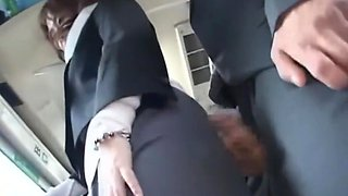 Japanese sexual harassment on the bus PART-1