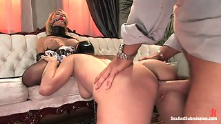 Krissy Lynn & Randy Spears & Winter Sky in The Maid and the Gimp - SexAndSubmission