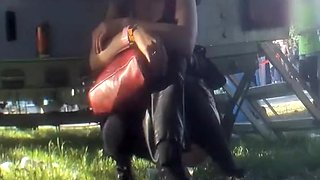 Music festival pissing compilation