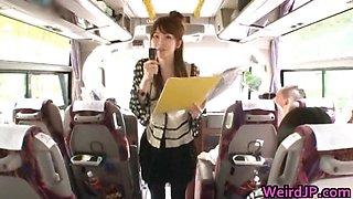 Crazy asian girls have hot bus tour 1 part3