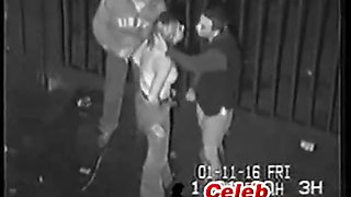 Real Security Cam Tape Of Drunk Girl in An Alley 02