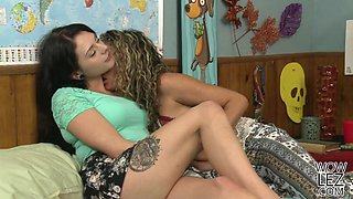 Mature woman and her younger lesbian friend Megan Sage