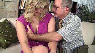 Cute Blonde Teen Seduced By Her Teacher
