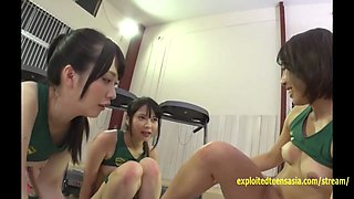 Jav Idols Fuck In The Gym Ride One Lucky Guy Tight Asses Cute Faces Yukina Arina Makoto Yukine
