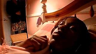 HAIRY EBONY MATURE MOM FUCKED BY a BBC