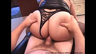 Bubble Butt Mexican Granny Gets Her Ass Fucked