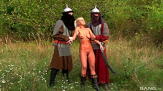 Amazing plowing session with insatiable blonde Nikki Sun