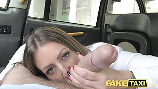 Kinky office girl in stockings rimming anal sex