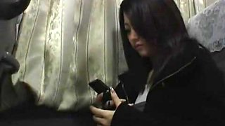 Exotic Japanese model Mai Takakura in Fabulous Bus JAV clip