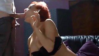 SmokingSweet - Redhead smoking sex