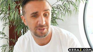 Fail massage therapist fucks emo MILF Anna Bell Peaks