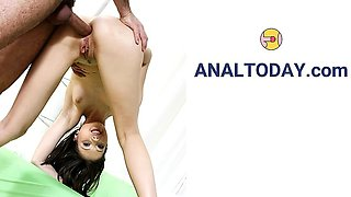 A Must See Perfect Treesome Anal Fuck