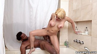 busty mom luna star fucks black guy in the bathroom