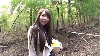 Cute Asian hooker Jessica Kizaki likes riding on massive meat poles