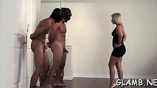 Breathtaking female domination with mastix grinding dick