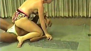 interracial wrestling
