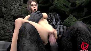 3d monsters hardsex game when monsters fuck echother