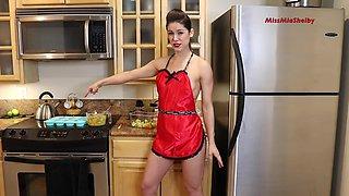 I wish she was in my kitchen