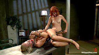 MILF prostitute punished & Dp'd by smoking hot redhead rookie cop!