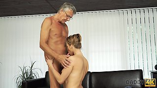 this old lecher seduced my girlfriend