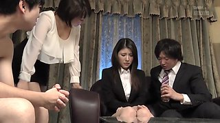 Exotic Japanese girl in Horny Group Sex, HD JAV clip