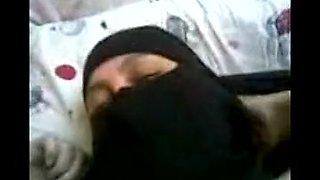 arab egyptian wife with niqab