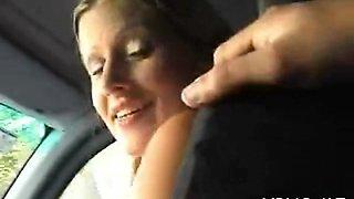 boasting of sex skills in a car film