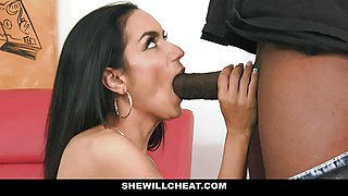 Sexy Wife With Huge Rack Loves Black Cock