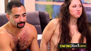Offbeat couple gets all horny and ready to party