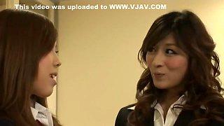 Hottest Japanese girl Juri Kitano, Anon Hanaki, Hana Sakurai in Incredible Cougar JAV movie