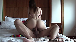 Father blesses Russian whore with a fuck