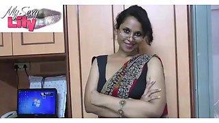 Indian babe Luly sex teacher