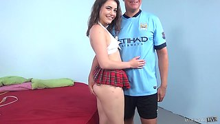 fresh teen fucked by her boss
