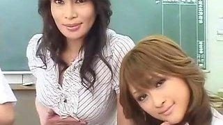 Crazy Japanese girl Rei Kitajima, Reika Kudo, China Yuuki in Horny Sports, Big Tits JAV clip