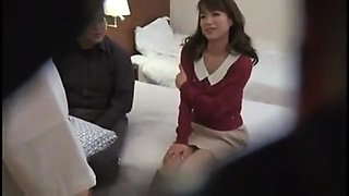 Dazzling Asian babe gets banged by a masseur on hidden cam