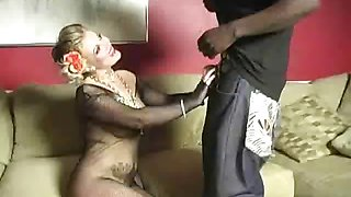 Cuckold Made To Suck Strap On Cock