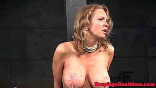 MILF nt punished and toyed in threeway
