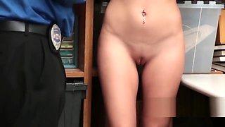 Arab babe punished with stiff boner