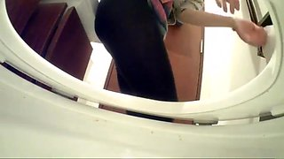 Japanese hidden toilet camera in restaurant (#66)