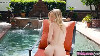 twistys - warming up at the pool - alex grey
