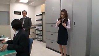 Amazing Japanese chick Mako Oda in Hottest Big Tits, Secretary JAV scene