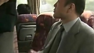 Japan milf enticed a man to touch her on the bus -pt2 on hdmilfcam.com