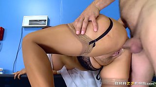 dr. tory lane gets her ass fucked by her patient in the hospital